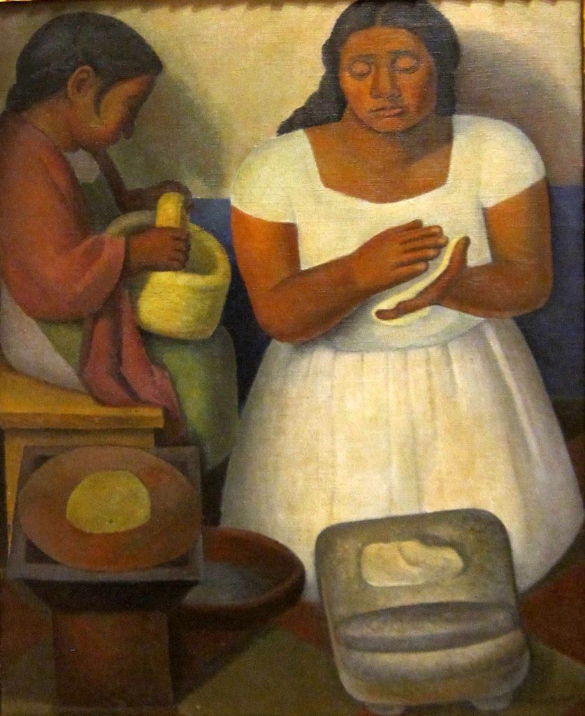 La tortillera, Diego Rivera 1926