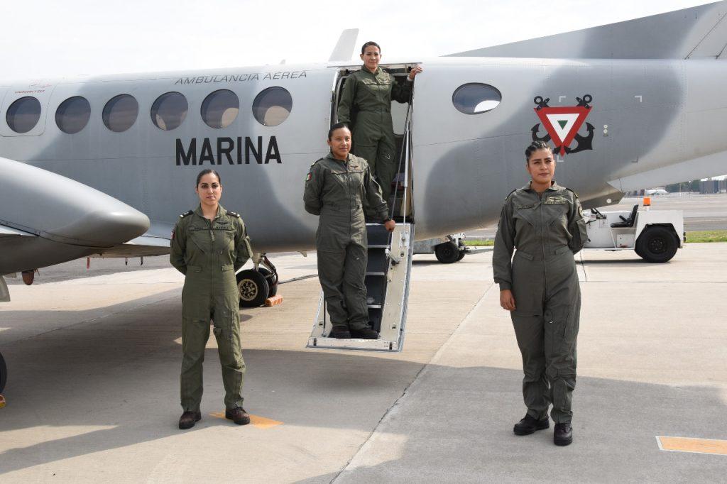 Primer tripulación 100% femenina.
