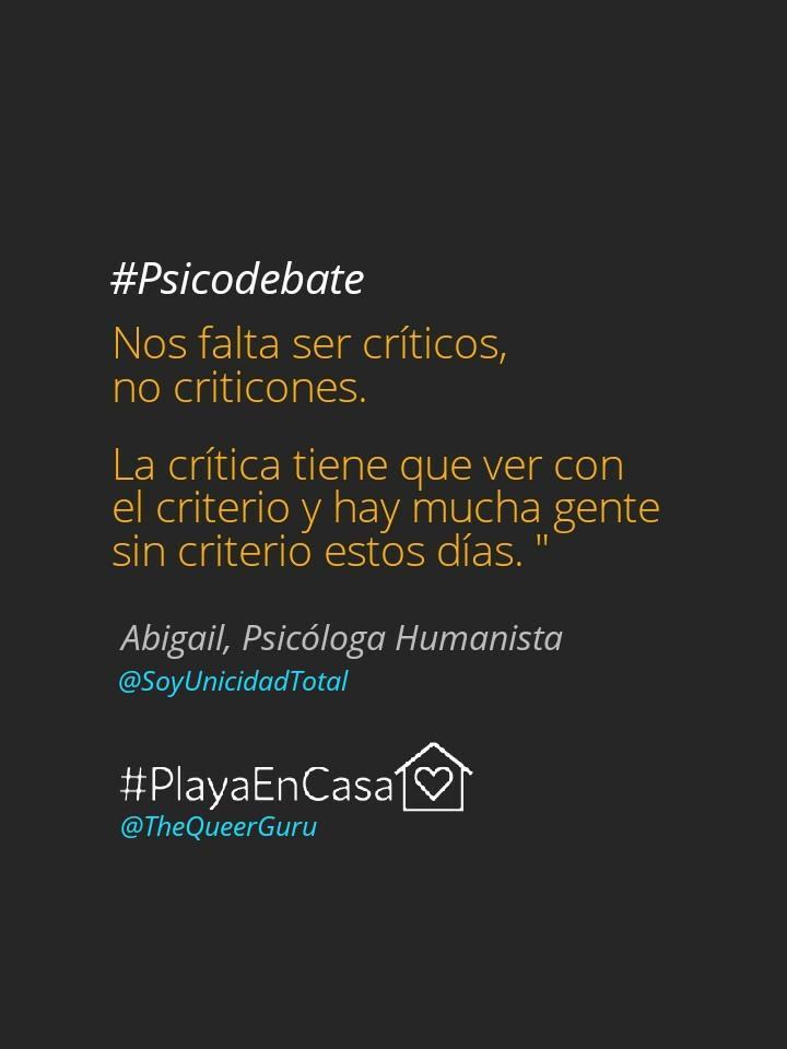 #Psicodebates, Playa del Carmen, The Queer Guru