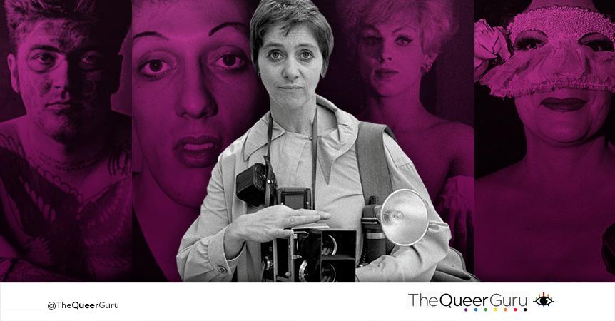 Diane Arbus    La mujer que llevó el Drag de los años 50's a los museos.